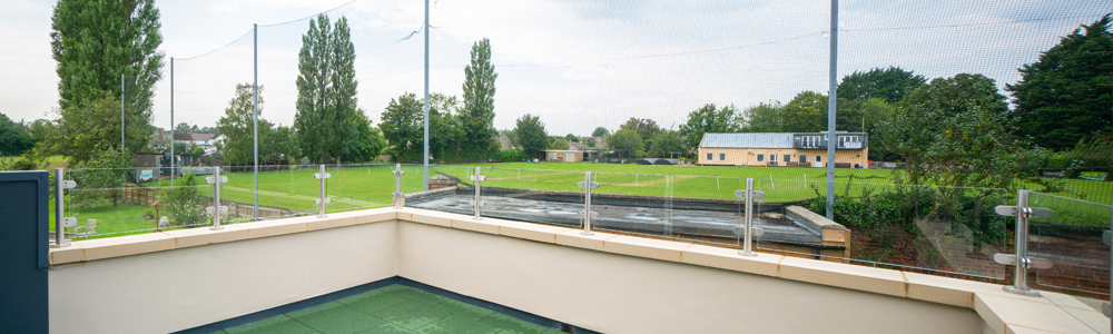Our nursing home overlooks the Goatacre Cricket Club